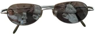 Oliver Peoples Grey Metal Sunglasses