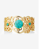 Express cut-out filigree cuff