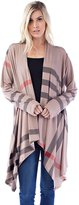 Allora Betsy Red Couture Women And Plus Size Knit Cardigan