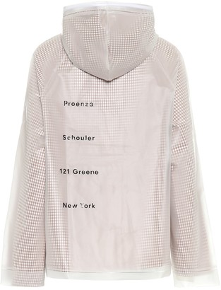 Proenza Schouler PVC and cotton jacket