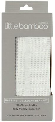 Little Bamboo Bassinet Cellular Blanket