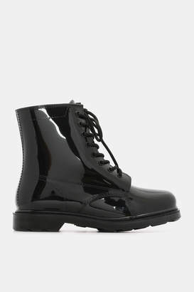 Ardene Lace-Up Rain Boots - Shoes |