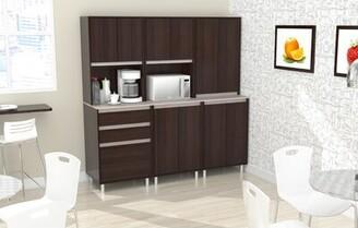 Ebern Designs Suniga 3-Piece Breakroom Kitchen Pantry Ebern Designs