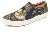 Vince Ace Palm Printed Slip On Sneakers