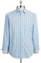 Calvin Klein Slim-Fit Plaid Shirt