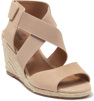 Susina Finnie Wedge Sandal