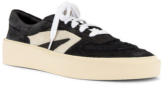 Fear Of God Skate Low Top Sneaker in Black & Grey   FWRD