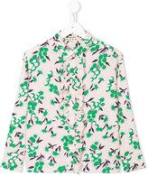 Marni ruffle placket shirt