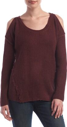 Taylor & Sage Women's Cold Shoulder Sweater