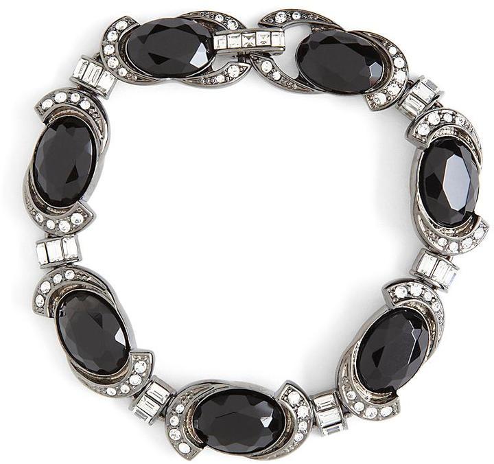 Brooks Brothers Austrian Crystal Pave Flex Bracelet