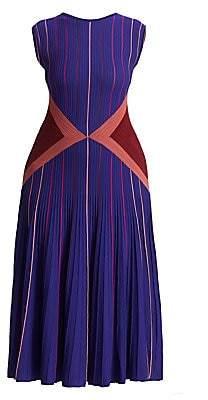 Marina Rinaldi Marina Rinaldi, Plus Size Women's Striped Stretch Knit Midi Dress