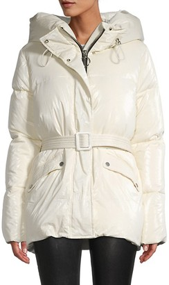Nicole Benisti Down-Filled Quilted Jacket
