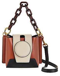 Yuzefi Women's Daria Colorblock Leather Satchel