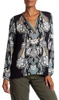 Hale Bob Floral Long Sleeve Tunic