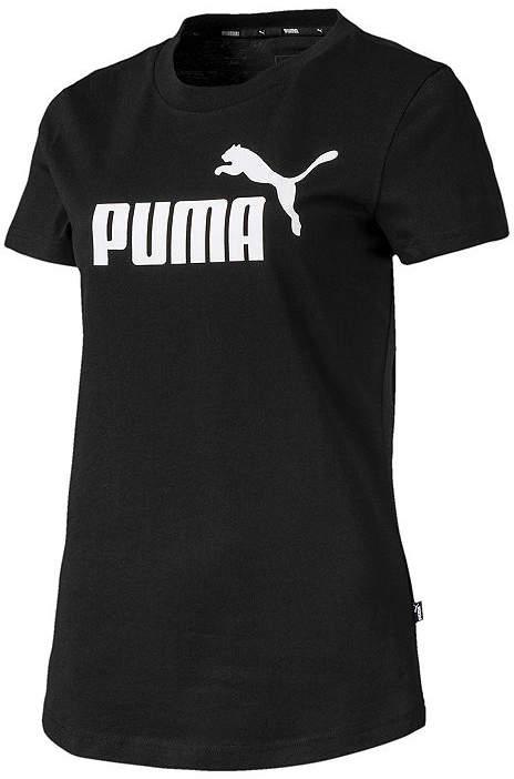 Puma Womens Crew Neck Short Sleeve Graphic T-Shirt