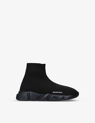 Balenciaga Speed mid-top knitted trainers 3-7 years