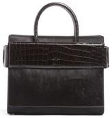 Givenchy Horizon Genuine Calf Hair & Leather Tote - Black
