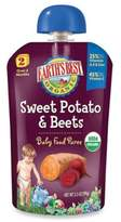 Earth's Best Organic 3.5 oz. Sweet Potato & Beets Baby Food Puree