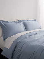 Melange Home Hemstitch Duvet Set