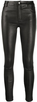 Drome Slim-Fit Leather Trousers