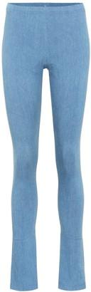 Junya Watanabe High-rise stretch denim pants