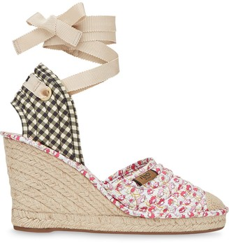 Fendi Zeppa wedge espadrilles
