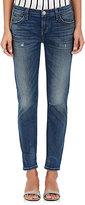 Current/Elliott Women's The Selvedge Easy Stiletto Jeans-NAVY
