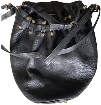Alexander Wang Diego Black Leather Handbags