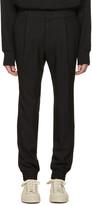 Juun.J Black Cuff Trousers