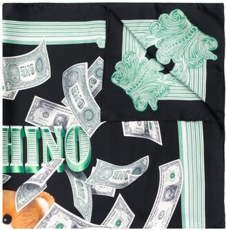 Moschino dollar Teddy Bear scarf