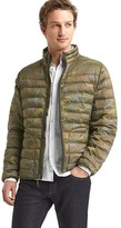 Gap ColdControl Lite camo puffer jacket