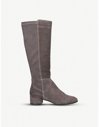 Aldo Thenalla leather and suede knee-high boots