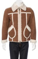 Burberry Shearling Collared Jacket w/ Tags