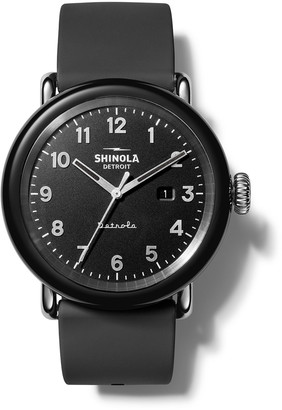 Shinola Detrola The Model D 43mm Silicone Watch