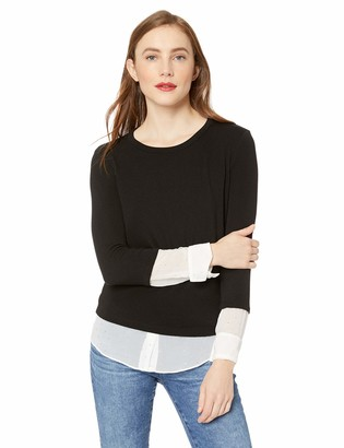 Bailey 44 Women's I'm So Excited Sweater 2fer Knit