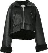 Miharayasuhiro oversized shearling jacket