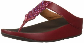 FitFlop Women's Cora Crystal Toe-Thong Sandal
