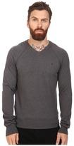 Original Penguin Long Sleeve V-Neck Pima Cotton Sweater