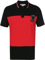 McQ by Alexander McQueen colour block polo shirt - men - Cotton - M