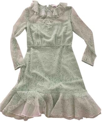 Sandro Spring Summer 2020 Green Viscose Dresses