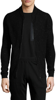 Antony Morato Men's Cotton Ribbed Zip Front Cardigan