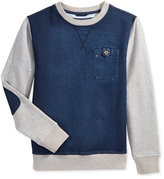 Tommy Hilfiger Knit Denim Pullover, Little Boys (2-7)