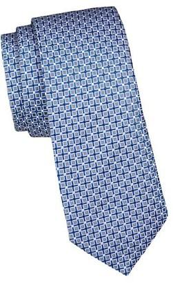 HUGO BOSS Micro Print Silk Tie