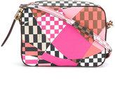 Emilio Pucci embroidered shoulder bag