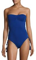 MICHAEL Michael Kors Bandeau One-Piece Swimsuit