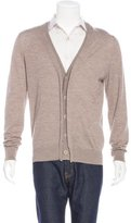 Maison Margiela Wool V-Neck Cardigan