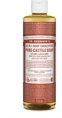Dr. Bronner's Organic Eucalyptus Castile Liquid Soap 473Ml