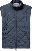 Canali - Reversible Water-resistant Quilted Shell Gilet