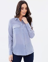 Oasis LS Stripe Shirt