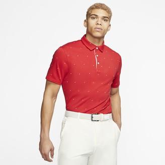 Nike Men's Printed Golf Polo Dri-FIT Player